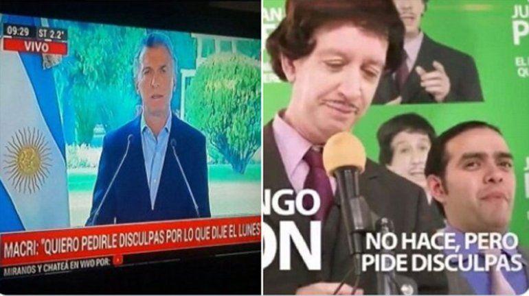Las redes explotaron con las medidas de Macri a lo Juan Domingo Perdón