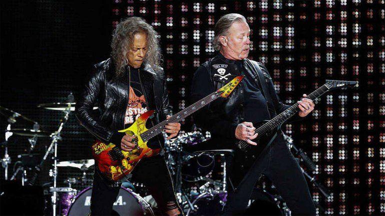 Metallica anunció la fecha de su show en Argentina