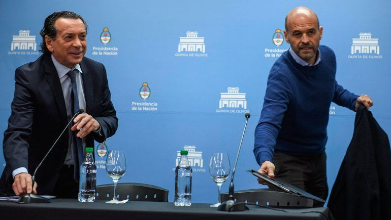 Sica y Dietrich respaldaron las medidas del Gobierno y negaron que sean electoralistas
