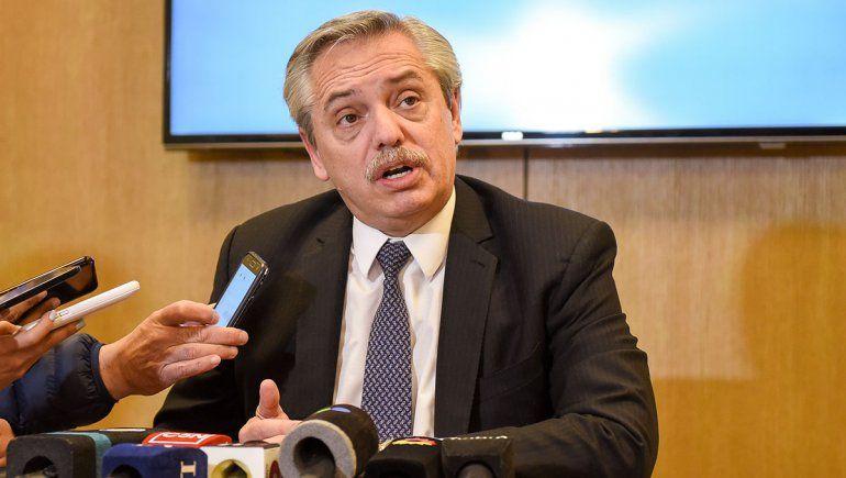 Alberto Fernández dijo que Argentina está en un default virtual