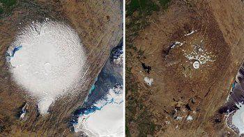 okjokull, el primer glaciar islandes que fue dado por muerto
