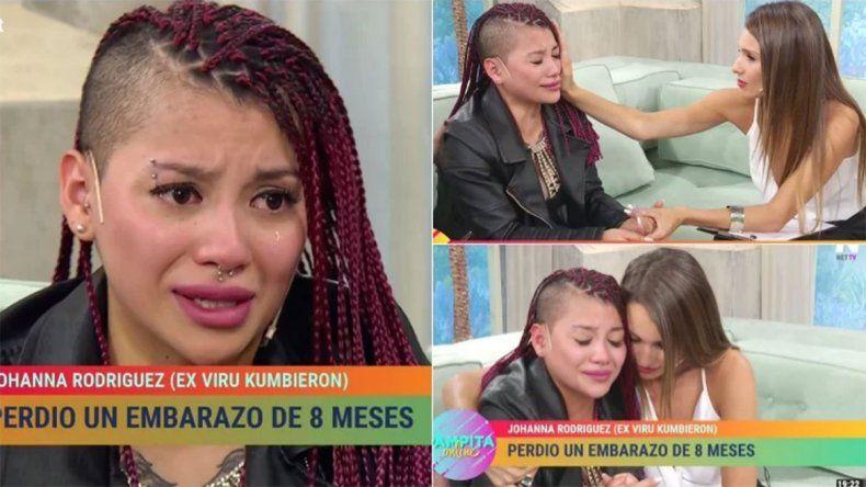 Desgarrador:  Johanna Rodríguez habló de sus miedos tras perder a su bebé y Pampita la consoló