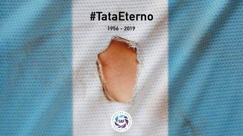 Minutos de silencio y camisetas rotas, el conmovedor homenaje que se viene al Tata Brown
