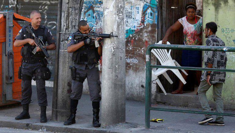 Río de Janeiro: operativo policial dejó tres personas muertas
