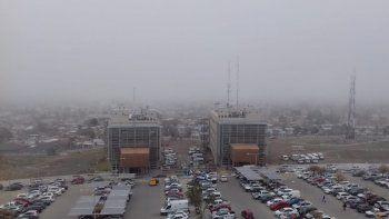 la niebla genero demoras en el aeropuerto