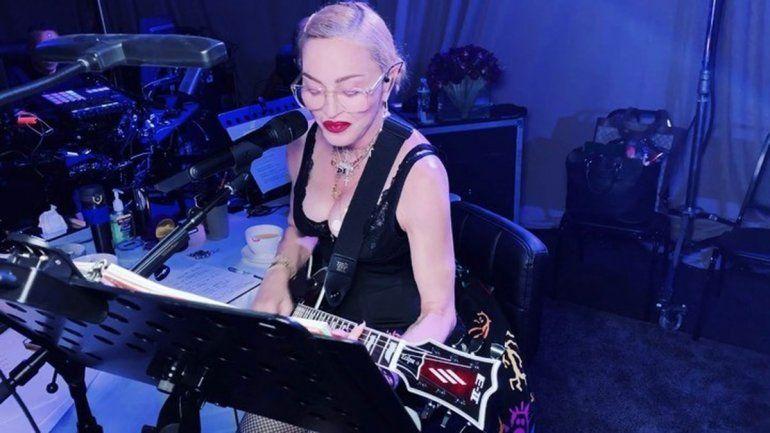 Madonna festejó sus 61 con mucho ensayo