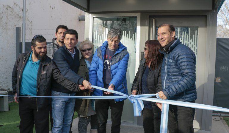 Gutiérrez inauguró un cajero del BPN en Villa María