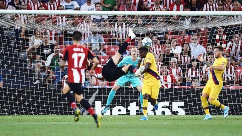 Con este golazo perdió el Barcelona en su debut en la Liga