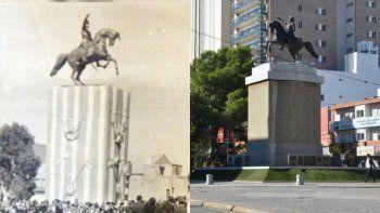 el monumento a san martin: como surgio la idea y por que se instalo en pleno centro