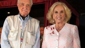 murio el hermano de mirtha legrand: tenia 93 anos