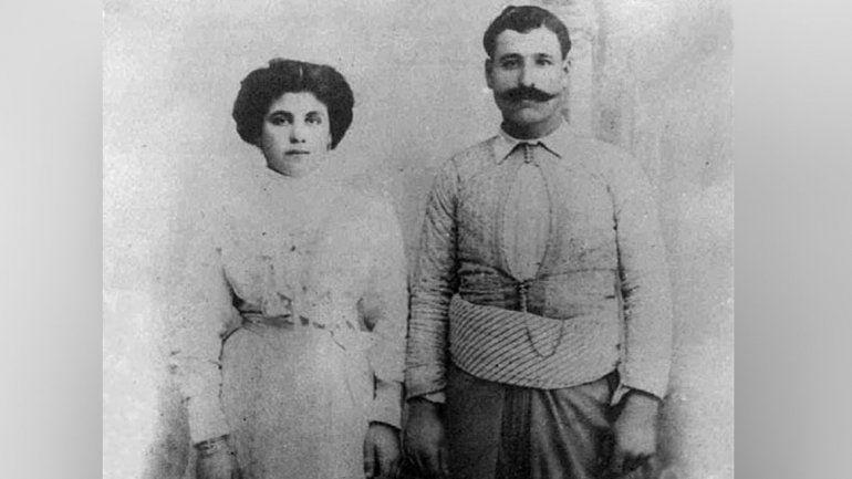 Nazira y Canaán, los padres de Elías.