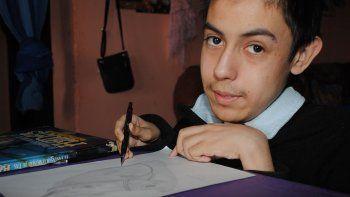ivan, el chico que desafia la enfermedad a puro talento