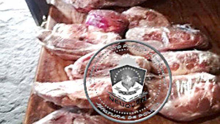 Allanaron su casa y tenía 15 kilos de carne robada