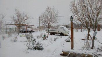 la nieve cambio el panorama del domingo de los ninos