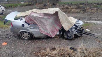 ruta 7: dos muertos en un choque cerca de el chanar