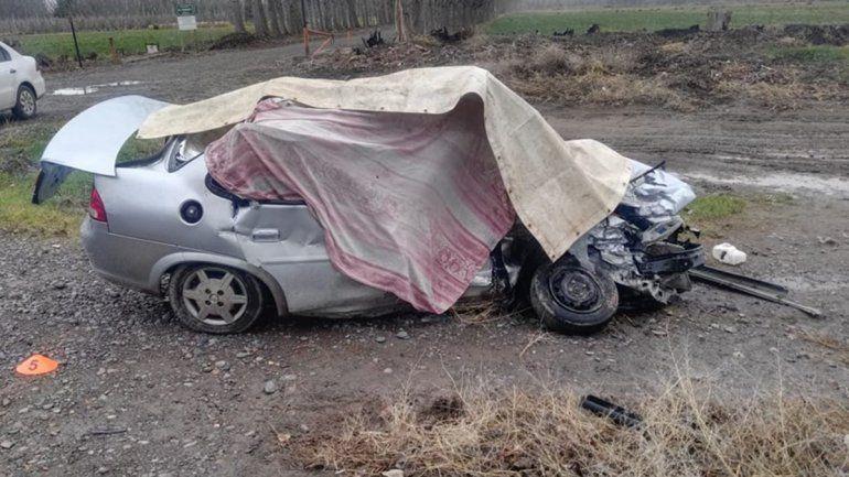 Ruta 7: dos muertos en un choque cerca de El Chañar