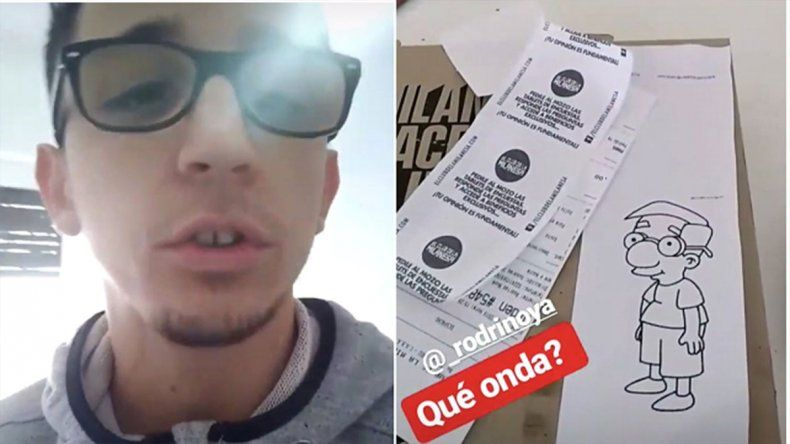Rodrigo Noya furioso con un conocido restaurant: Pedí una milanesa y me trajeron un Milhouse