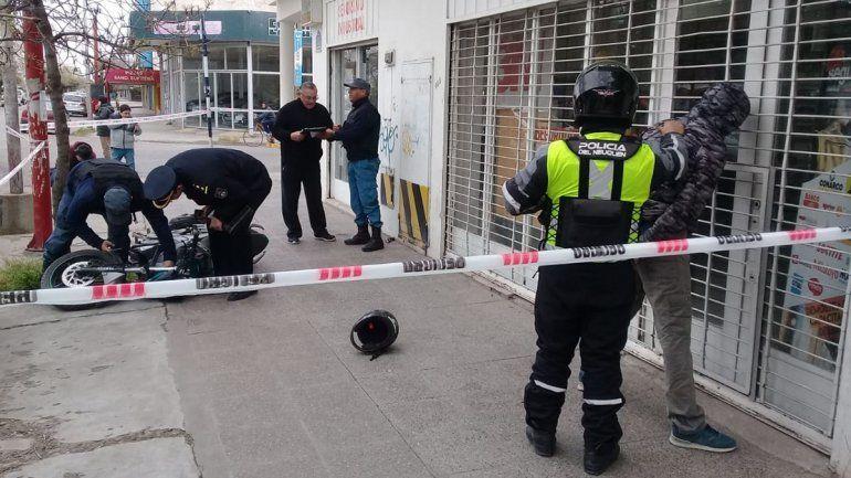 Dos detenidos tras una persecución policial de película
