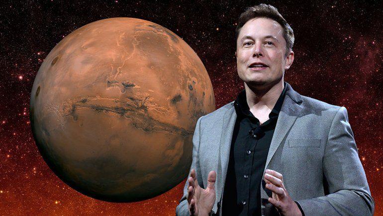 Un magnate quiere bombardear Marte y terraformarlo
