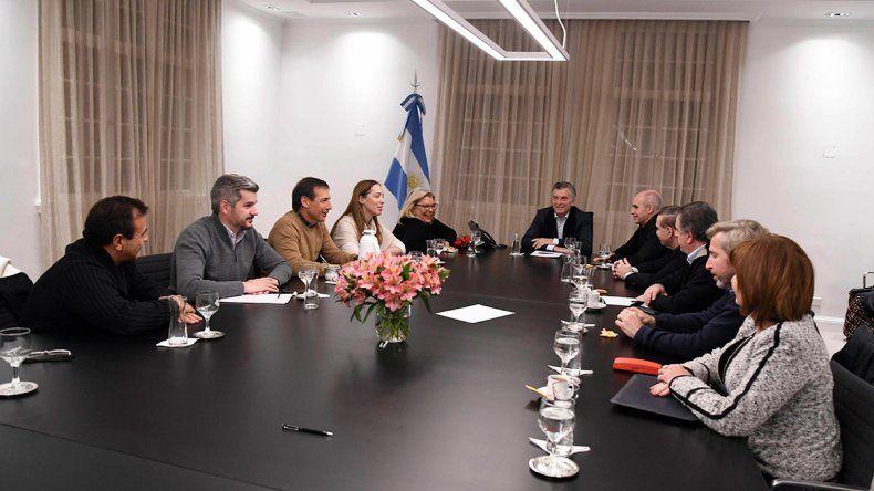 Macri se reunió con sus allegados y descartó nuevos cambios en el Gabinete