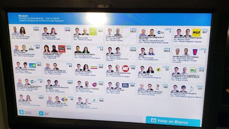 En Neuquén también proponen usar lupa para votar intendente