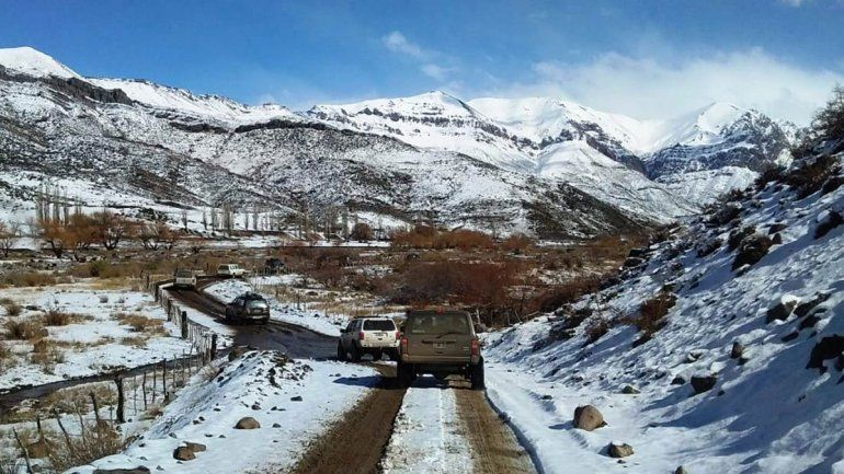 Una travesía 4x4 por la Cordillera del Viento