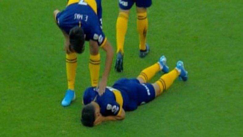 Zárate se desgarró y se perderá el Superclásico