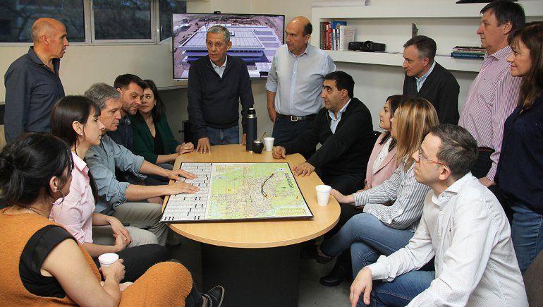 Bermúdez ya trabaja en un plan de gobierno junto a Quiroga