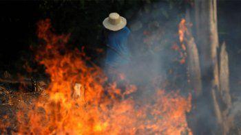las desgarradoras fotos del incendio en amazonia