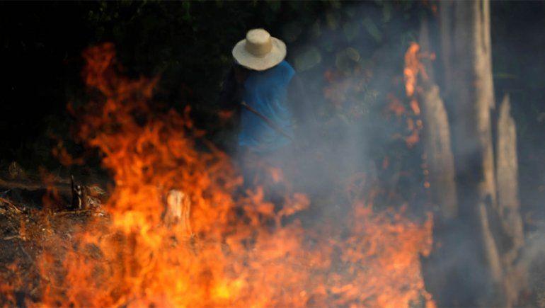 Las desgarradoras imágenes del terrible incendio en la Amazonía