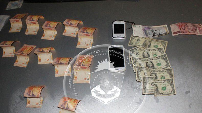 Robaron más de cincuenta mil pesos de una casa y los atraparon