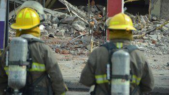 sapere: en plena demolicion se produjo una fuga de gas
