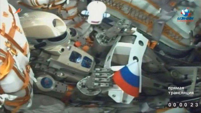 El robot ruso Fedor no pudo llegar a la Estación Espacial