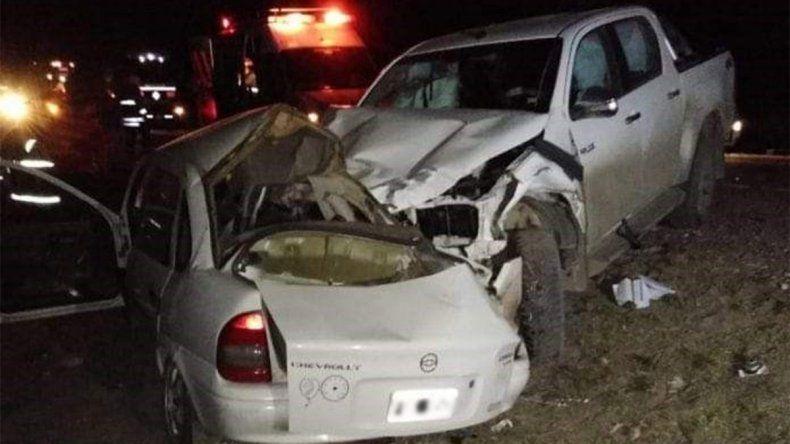 Chimpay de luto: dos personas murieron en un trágico accidente