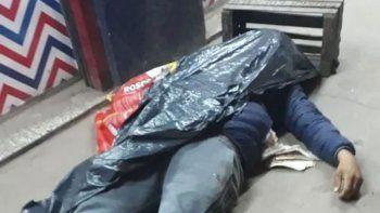 un policia mato a un ladron que robo en una carniceria