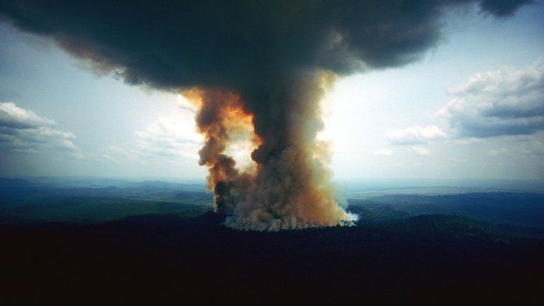 Posibles consecuencias del incendio amazónico