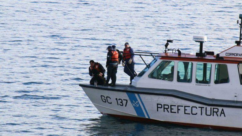Encontraron un cuerpo en el lago Nahuel Huapi
