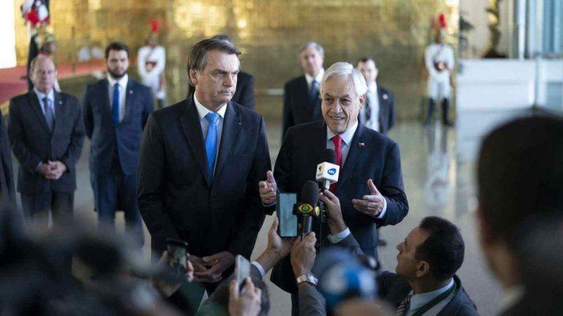 Piñera defendió la soberanía de Brasil sobre la Amazonia