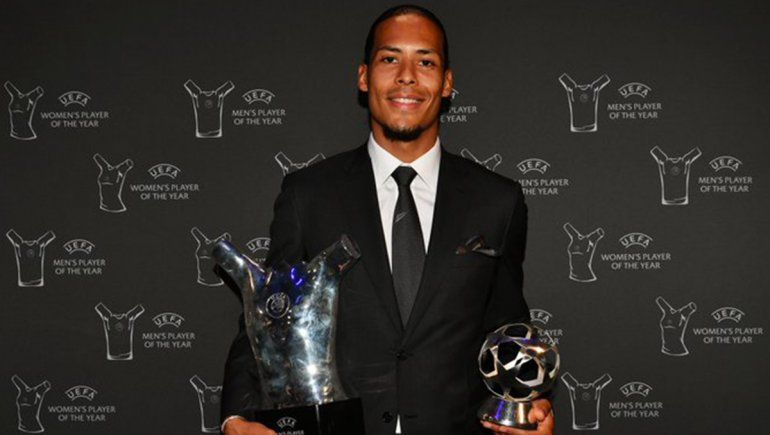 Ni Messi ni Cristiano Ronaldo: Virgil van Dijk es el mejor jugador de la UEFA
