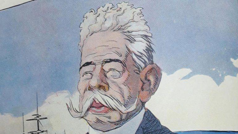Caricatura de Carlos Bouquet Roldán