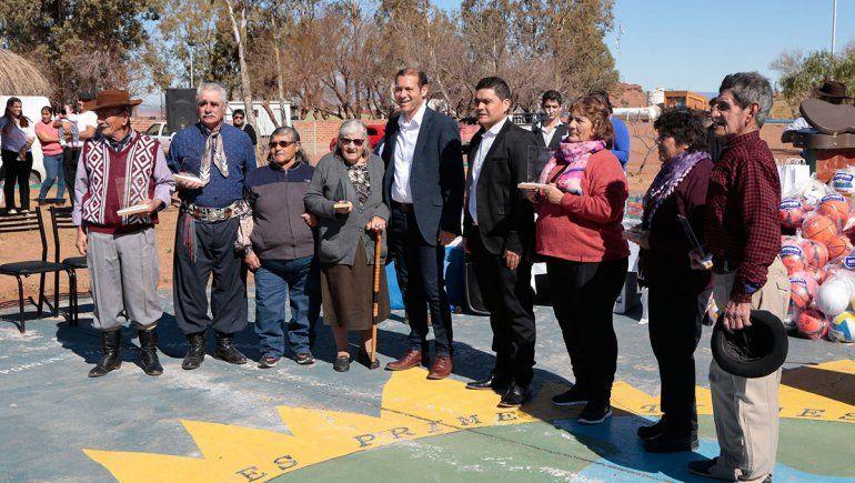 Aguada San Roque celebró sus 20 años con entrega de casas
