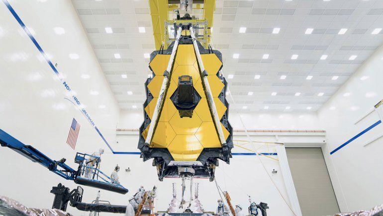 El telescopio espacial más potente ya fue unido exitosamente