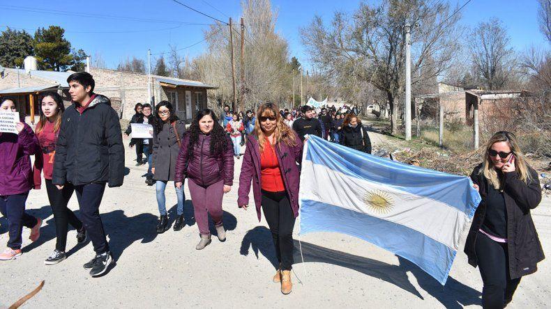 Reclaman mejoras en una escuela de Mariano Moreno