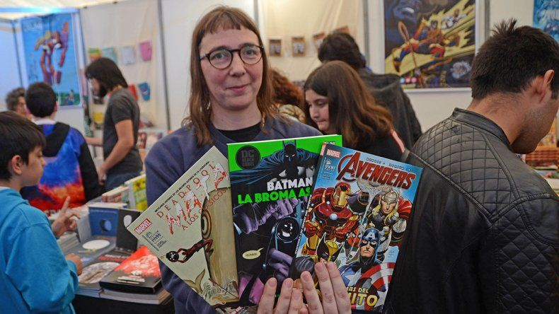 Los cómics son la gran atracción de la Feria del Libro