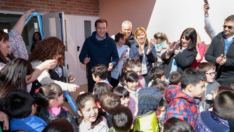Abrió sus puertas un nuevo jardín de infantes de Plottier