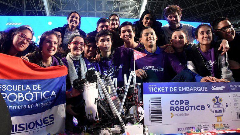 Los estudiantes de Misiones ganaron la Copa Argentina de Robótica