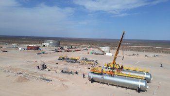 ypf construye su base para procesar 500 mil barriles