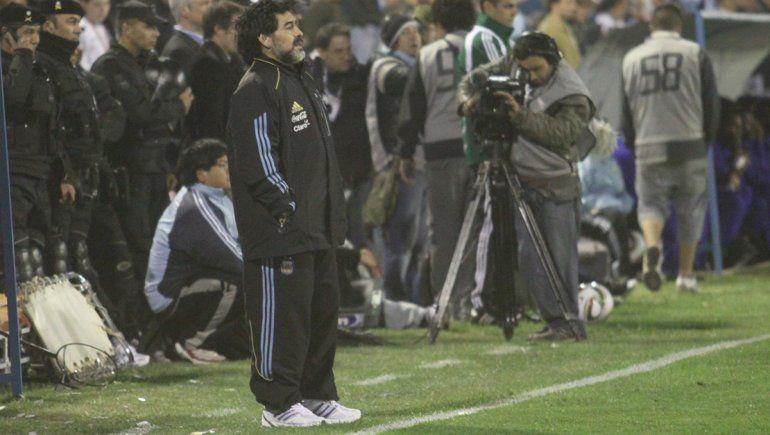 La noche en la que Maradona dirigió en Neuquén