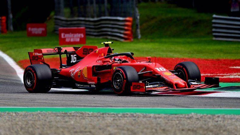 Charles Leclerc y una pole con suspenso en Monza
