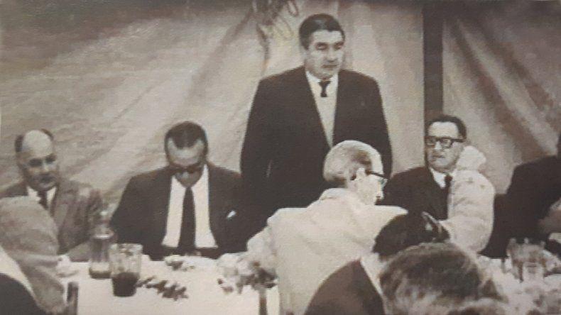García y su gabinete.